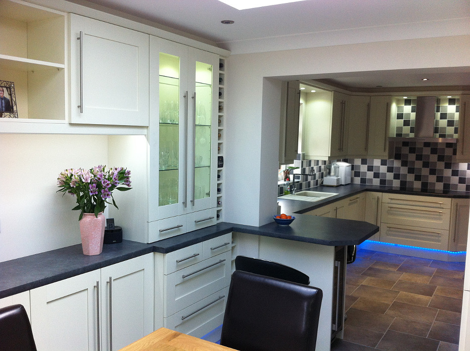 Elegant This Cream Shaker Style Kitchen Is By Kitchens Direct Pictures